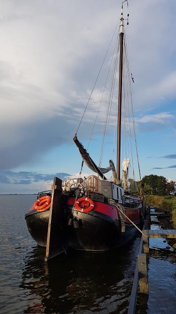 Bij een eiland in Friesland